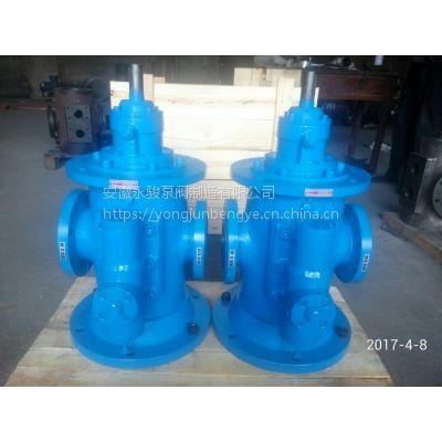 厂家直销 SNS80-46 立式三螺杆泵 安徽永骏泵阀 三螺杆泵厂家