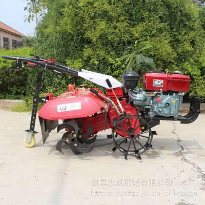 优质耐用的四驱耕地机 山区小型松田机 手持式微耕机厂家