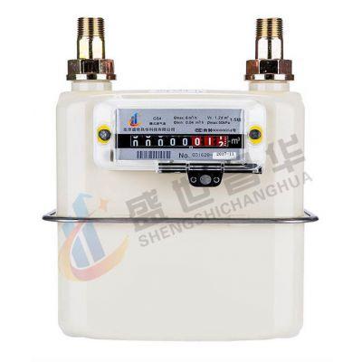 供应G2.5型家用膜式天然气表盛世昌华燃气表