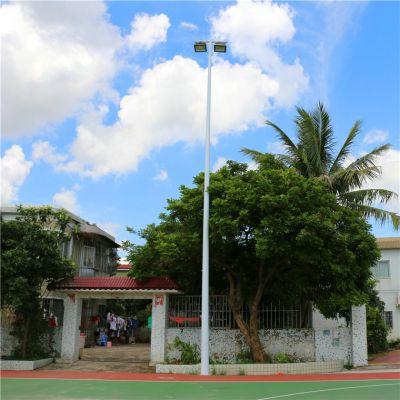 山西篮球场照明灯杆 灯柱柏克有卖 环保节能照明灯具配灯杆