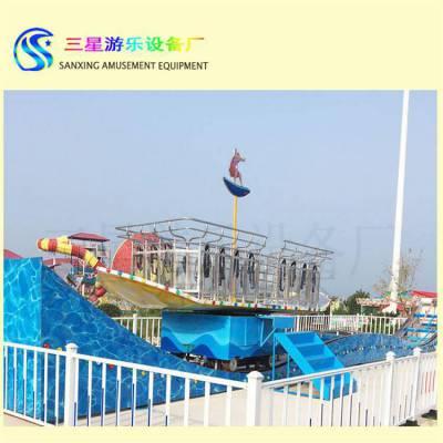 儿童乐园景区新型游乐设备冲浪者滑板式游乐设施