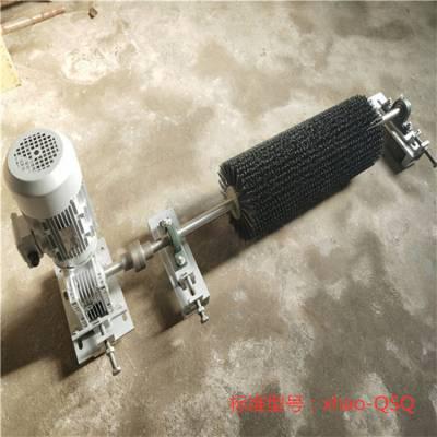 天德立皮带机电动滚刷清扫器 B1000尼龙刷皮带清扫器