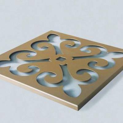 天津火车站穿孔雕刻铝单板厂家