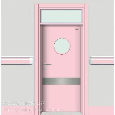 常德防夹手幼儿园门生产厂家 怡立特幼儿园门 实木复合门 安全性能好