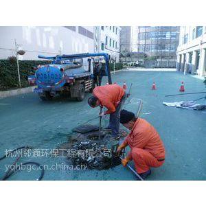 富阳龙门镇市政道路雨水管道清理