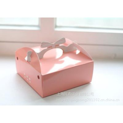 奉贤南桥纸品厂 民青纸业 披萨快餐外卖盒 二层牛皮纸盒 食品包装盒