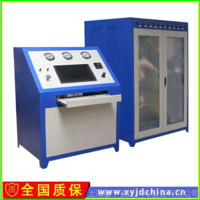 上海馨予消防零部件水压变形爆破测试台 气瓶水压爆破试验台规格