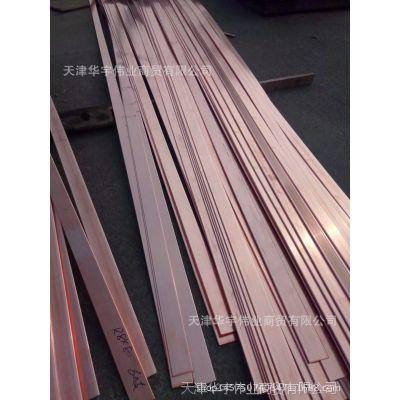 镀锡铜排 紫铜排TMY10*100铜排 无氧导电铜排 紫铜卷排 现货供应