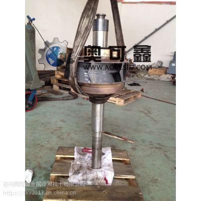污水泵叶轮采用高分子微粒合金胶粘剂修复成功