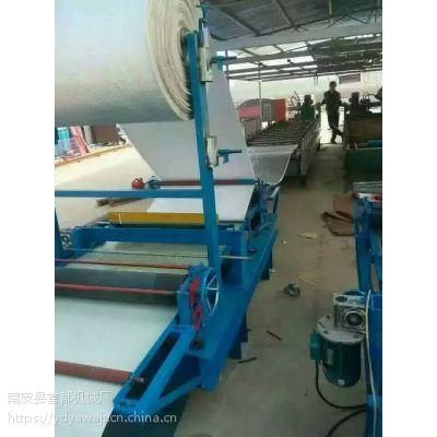 供应誉都机械厂两种规格的彩钢压瓦机覆膜设备