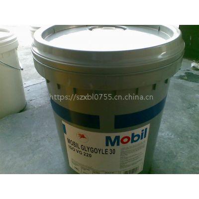 白山格高30蜗轮蜗杆齿轮油,Mobil Glygoyle 30,格高Glygoyle 44合成齿轮油