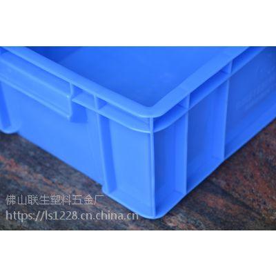 乔丰塑胶厂家直销,浙江家具五金厂可丝印LOGO进口原材料耐冲击零部件周转箱