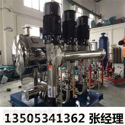 管网叠压变频供水设备 智能一体化供水设备 功能