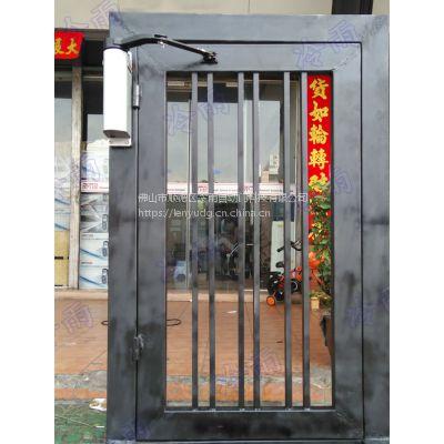 深圳冷雨开门机电机 安装简便的智能刷卡门电动闭门器 别墅铁艺大门遥控电机厂家