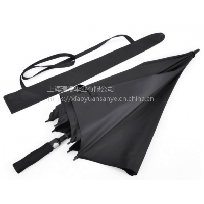 供应双层抗风高尔夫伞 高档玻璃纤维骨架高尔夫伞 高尔夫广告雨伞定制厂家