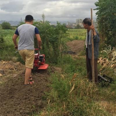 新品自走式微耕机 可以更换刀具的微耕机