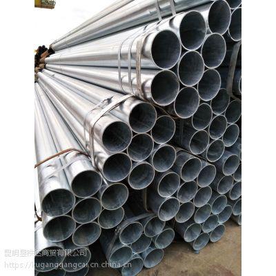 云南消防专用镀锌钢管273x4.5河北正大天虹厂家销售材质Q235B