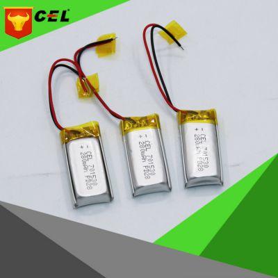 成人用品 医疗仪器 内置聚合物锂电池CEL701530-280mAh