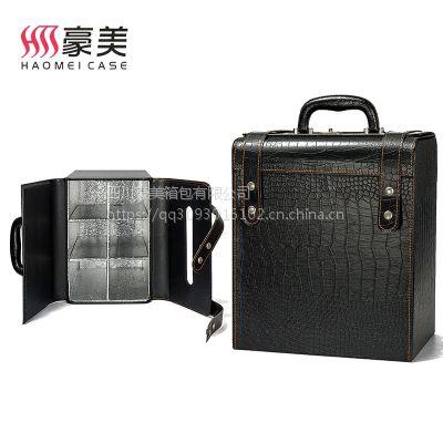 豪美箱包四川重庆贵州云南宁夏酒盒包装生产厂家 红酒盒六支 红酒包装盒