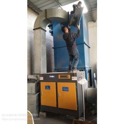 张家口尼龙袋厂烟气净化技术 光氧催化塑料袋厂臭气异味过滤装置