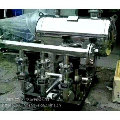 供应修津牌不锈钢成套无负压供水设备WBOC16/2-0.96