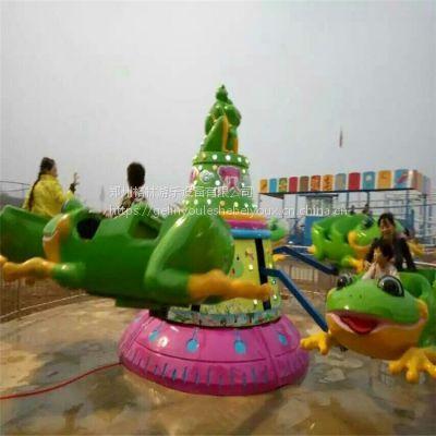 郑州格林游乐供应新款弹跳青蛙 炫酷灯光 价格优惠