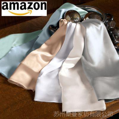 厂家直销【19姆米】纯色双面100桑蚕丝双面真丝枕套 多色
