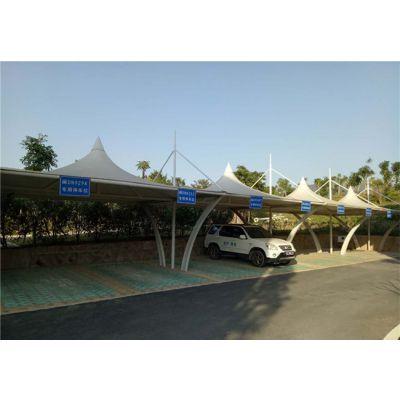 丽水膜结构车棚厂家订制 丽水膜结构车棚艺术性、经济性、耐温性