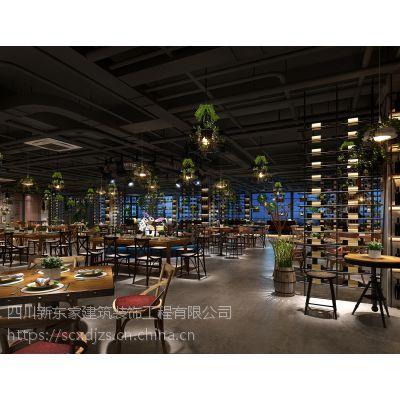 成都主题餐厅设计|专业餐厅装修设计|16年施工队伍