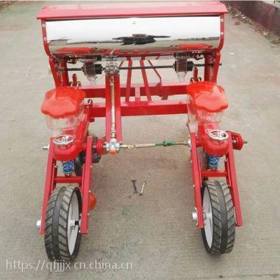 金佳小型玉米播种机 农业种植小四轮拖拉机带动三行玉米播种机