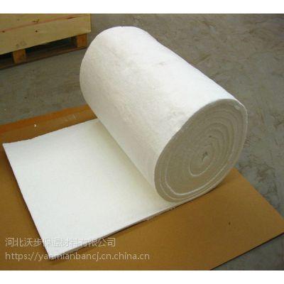 耐火硅酸铝卷毡、随州硅酸铝甩丝纤维毯 防火厂家