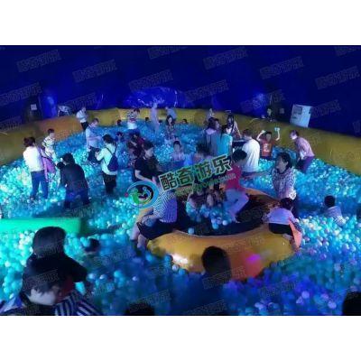 百万海洋球池-海洋球池城堡_支架游泳池_帐篷游乐设施