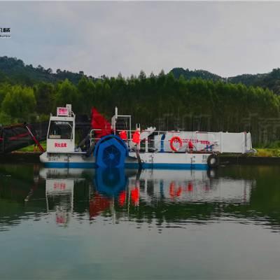 江苏水草收集船 浮萍打捞运输机械报价