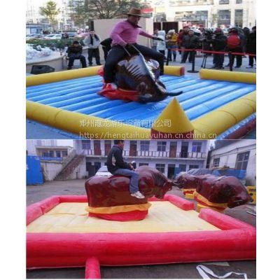 大型户外设备斗牛机 机械牛成人游乐场娱乐玩具 牛机大型骑牛机