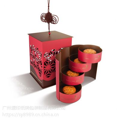 高档月饼包装盒如何制作?放心交给速印包装让你放心!