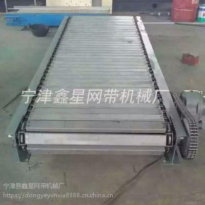 xx038槽钢链板输送机载重折弯链板生产线性能优势