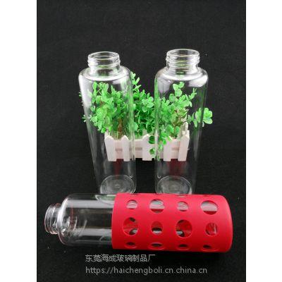 新款运动玻璃杯 便携手提玻璃水杯 创意玻璃杯