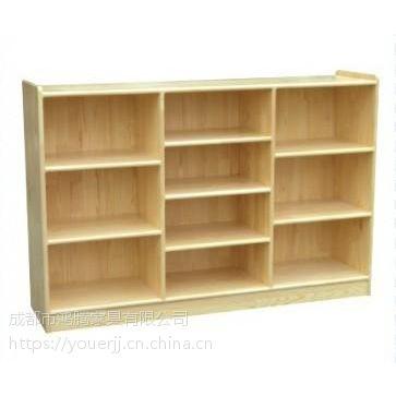 幼儿园玩具柜 书包柜 幼儿园实木书架 水杯柜