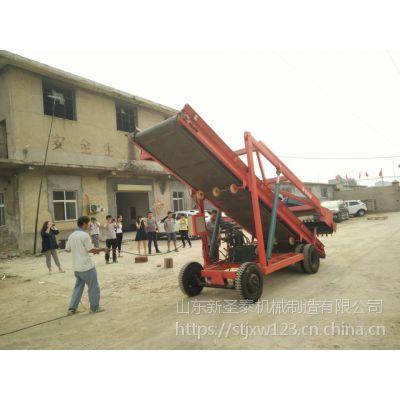 供应青储饲料场适用青贮取料机生产厂家 圣泰大型青饲料取料机作用