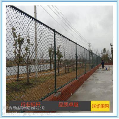 厂家供应勾花网围栏网 4*3米运动场围栏网