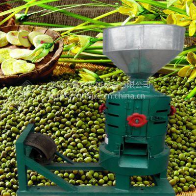 谷子高粱碾米机 多功能碾米机组合设备 谷子脱皮打米机富兴