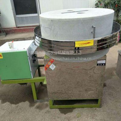 陕西多功能电动面粉石磨机 杂粮面粉电动石磨 石磨设备价格