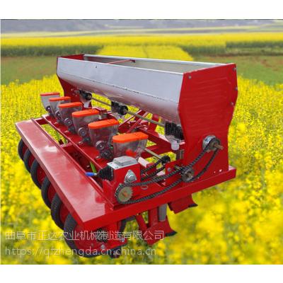 蔬菜棚精播机 链辊播种机 自走式蔬菜精播机
