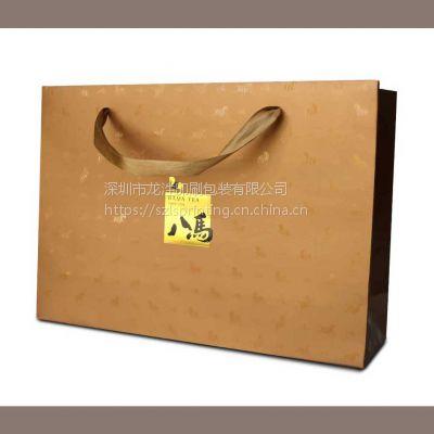 深圳纸质手提纸袋定做,白卡纸手提袋订制 服装手提纸袋定制