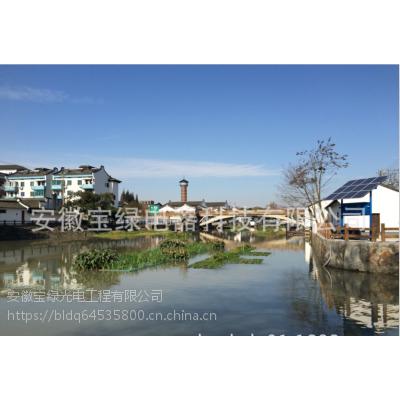 宝绿河道水体净化装置、治理修复、污水处理设备YTSHD—A2009