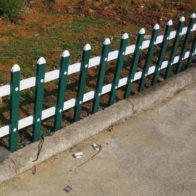 江苏淮安美丽新乡村草坪护栏围栏pvc塑钢花园栅栏护栏厂家