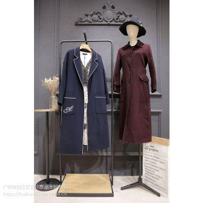 朗美睿双面羊绒大衣品牌折扣女装专柜正品分份走份含阿尔巴卡羊驼绒