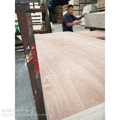 二次成型包装板 家具板 15mm桃花芯奥古曼胶合板