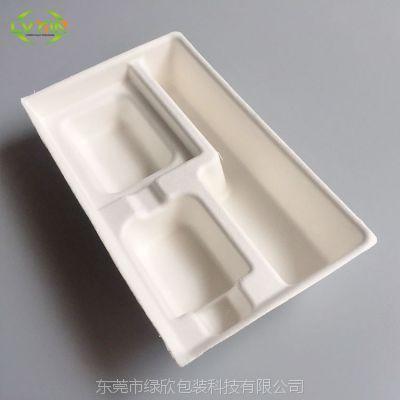 实力厂家供应白色干压纸托加工定制