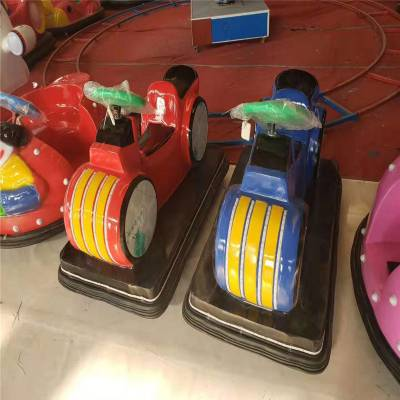 公园广场电瓶碰碰车亲子对战儿童玩具车广场未来战车太子摩托车